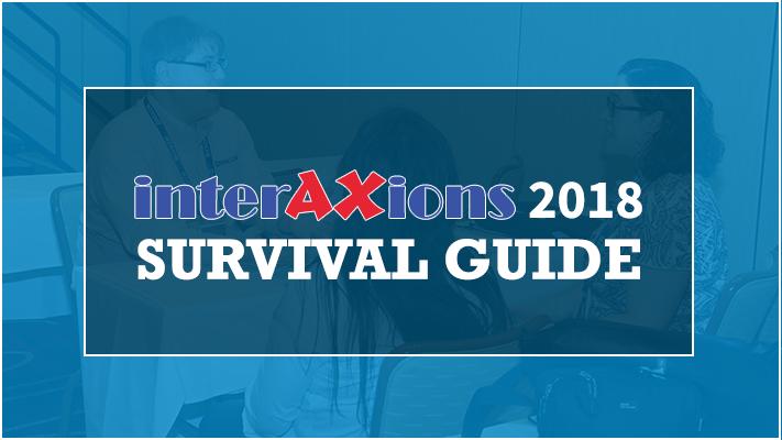 Interaxions 2018 Survival Guide