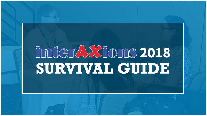 Interaxions 2018 Survival Guide