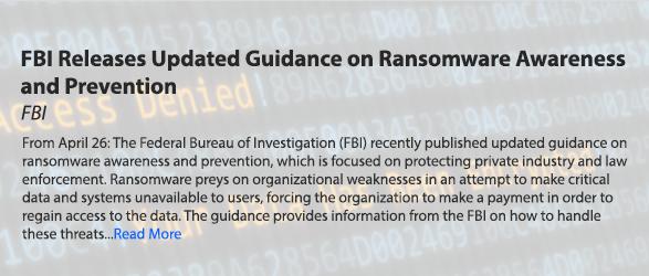 Ransomware Awareness & Prevention