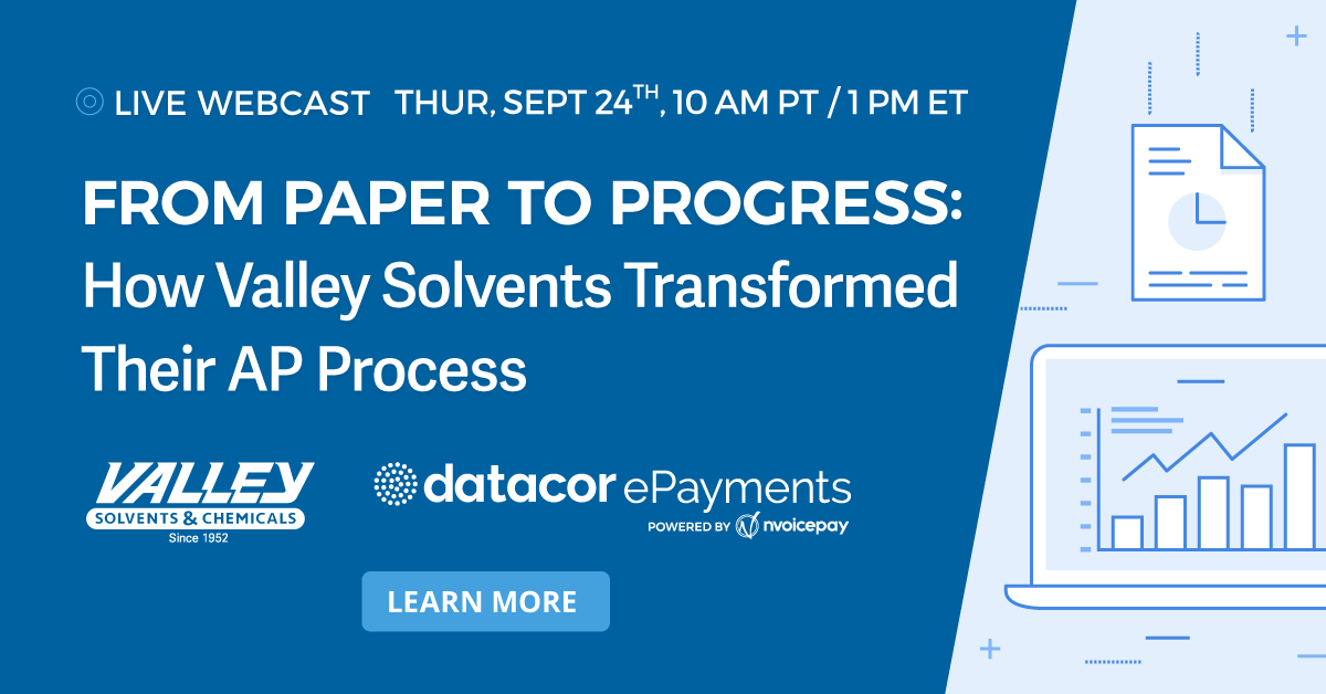 Webinar: From Paper to Progress with Datacor ePayments